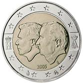 2 Euro Belgien 2005 Gedenkmünze Euromunzen Eorocoins Euro