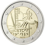 2 Euro  Italia 2009 Louis Braille