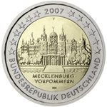 2 Euro Saksa -Germany  2007 -G