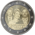 2 Euro Luxemburg 2012 Royal Wedding