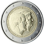 2 Euro Hollanti  2014 William & Beatrix