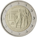 2 Euro Itävalta 2016 National Bank Austria
