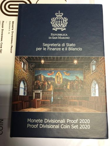 SAN MARINO PROOF SET 2020