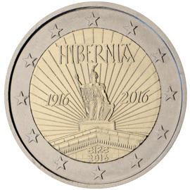 2 Euro 2016 Irland Ostern Rising Euromunzen Eorocoins Euro